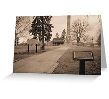 Point Pleasant,Wv Park Greeting Card