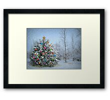 Decorated Winter Framed Print