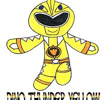 Dino Thunder Yellow by nijibeat