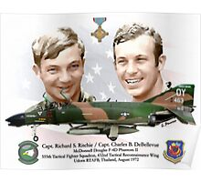 Capt. Richard S. Ritchie - Capt. Charles B. DeBellevue Poster