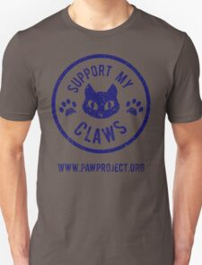 Support My Claws - The Paw Project T-Shirt