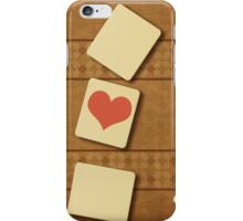 Scrabble letters iPhone Case/Skin