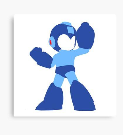 Megaman Vector Canvas Print