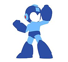Megaman Vector Photographic Print