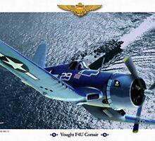 "Vought F4U ""Corsair"" by A. Hermann"