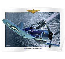 "Vought F4U ""Corsair"" Poster"