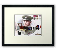Wing Commander William G. Barker Framed Print