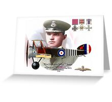 Wing Commander William G. Barker Greeting Card