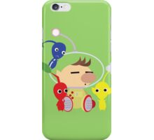 Olimar and Pikmin Vector iPhone Case/Skin