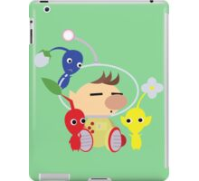 Olimar and Pikmin Vector iPad Case/Skin