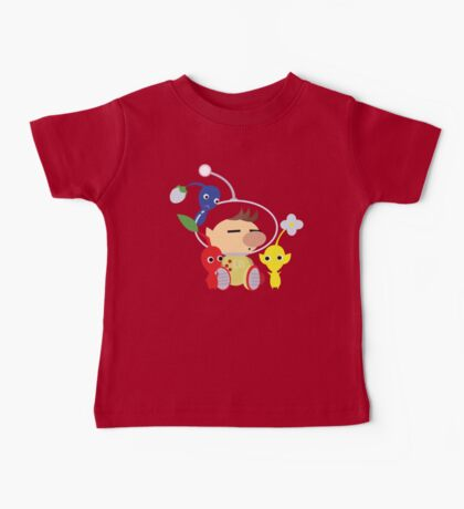 Olimar and Pikmin Vector Baby Tee