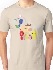 Olimar and Pikmin Vector Unisex T-Shirt