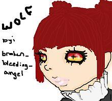 W O L F from GaiaOnline by BrokenBleedingAngel