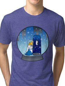 Poor Mr Ice King Tri-blend T-Shirt