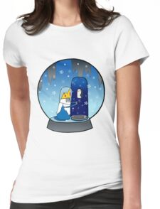 Poor Mr Ice King Womens Fitted T-Shirt
