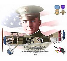 Lieutenant Frank Luke Jr. - Arizona Ballon Buster Photographic Print