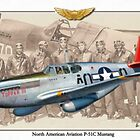 North American P-51 C Mustang - Tuskegee by A. Hermann