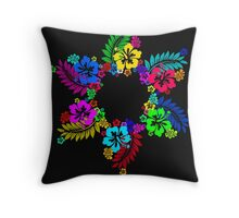 Six Petal Flower Beauty Throw Pillow