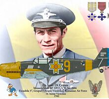 Lt. Ioan Di Cesare - Romanian WW II Ace by A. Hermann
