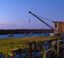 The old crane   (Still standing tall) by Loklok