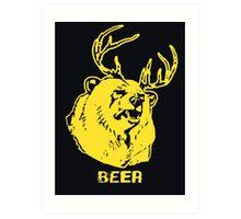 Always Sunny Bear T-shirt Art Print