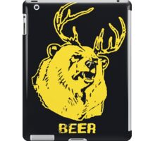 Always Sunny Bear T-shirt iPad Case/Skin