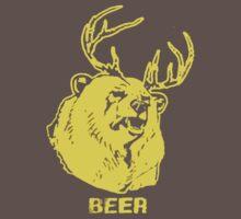 Always Sunny Bear T-shirt by Jelly-Bean