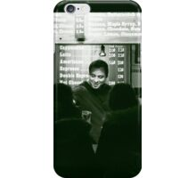 The smiling server iPhone Case/Skin