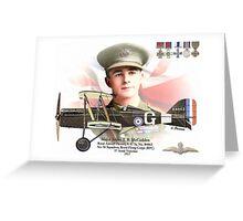 Major James T. B. McCudden Greeting Card