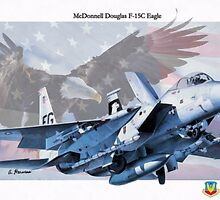 "McDonnell Douglas F-15C ""Eagle"" by A. Hermann"