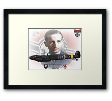 Major Wolfgang Falck Framed Print