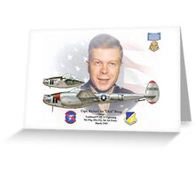 Richard Ira Bong Greeting Card