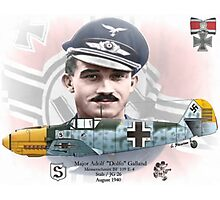 "Adolf ""Dolfo"" Galland Photographic Print"