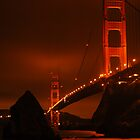 Golden Gate Bridge by Ray Rozelle