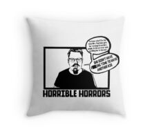 Horrible Horrors - Friday the 13th Throw Pillow