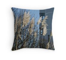 The Rush to Work Throw Pillow