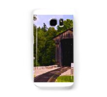 Tracks to the Past Samsung Galaxy Case/Skin