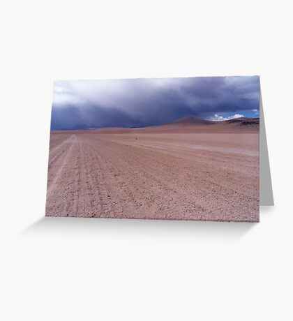 Bolivian Altiplano Greeting Card