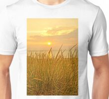 Sunset at Montague Beach Unisex T-Shirt