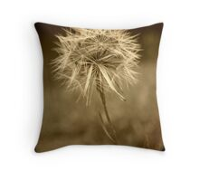 Backyard Treasures III: Dandelion Dream Throw Pillow