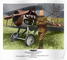 WW I Ace Frank Luke Jr. Poster