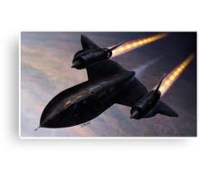Lockheed SR 71 Blackbird Canvas Print