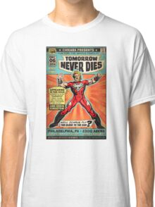 CHIKARA's Tomorrow Never Dies - Official Wrestling Poster Classic T-Shirt