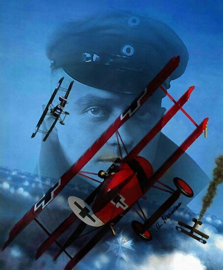 The Red Baron by A. Hermann