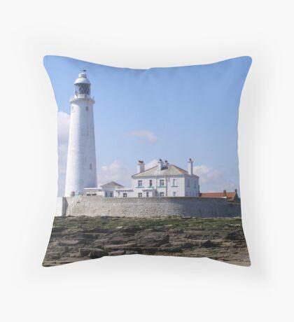 St Marys Island Throw Pillow