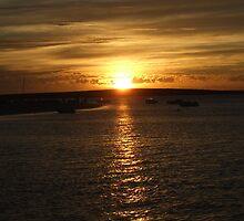 Sunset, Monkey Mia, Western Australia by chapperskate