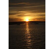 Sunset, Monkey Mia, Western Australia Photographic Print