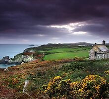 St Non's Chapel by Lucy Hollis