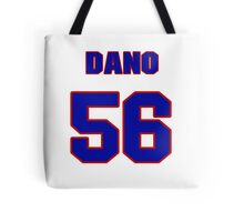 National Hockey player Marko Dano jersey 56 Tote Bag