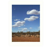 The Outback, Western Australia Art Print
